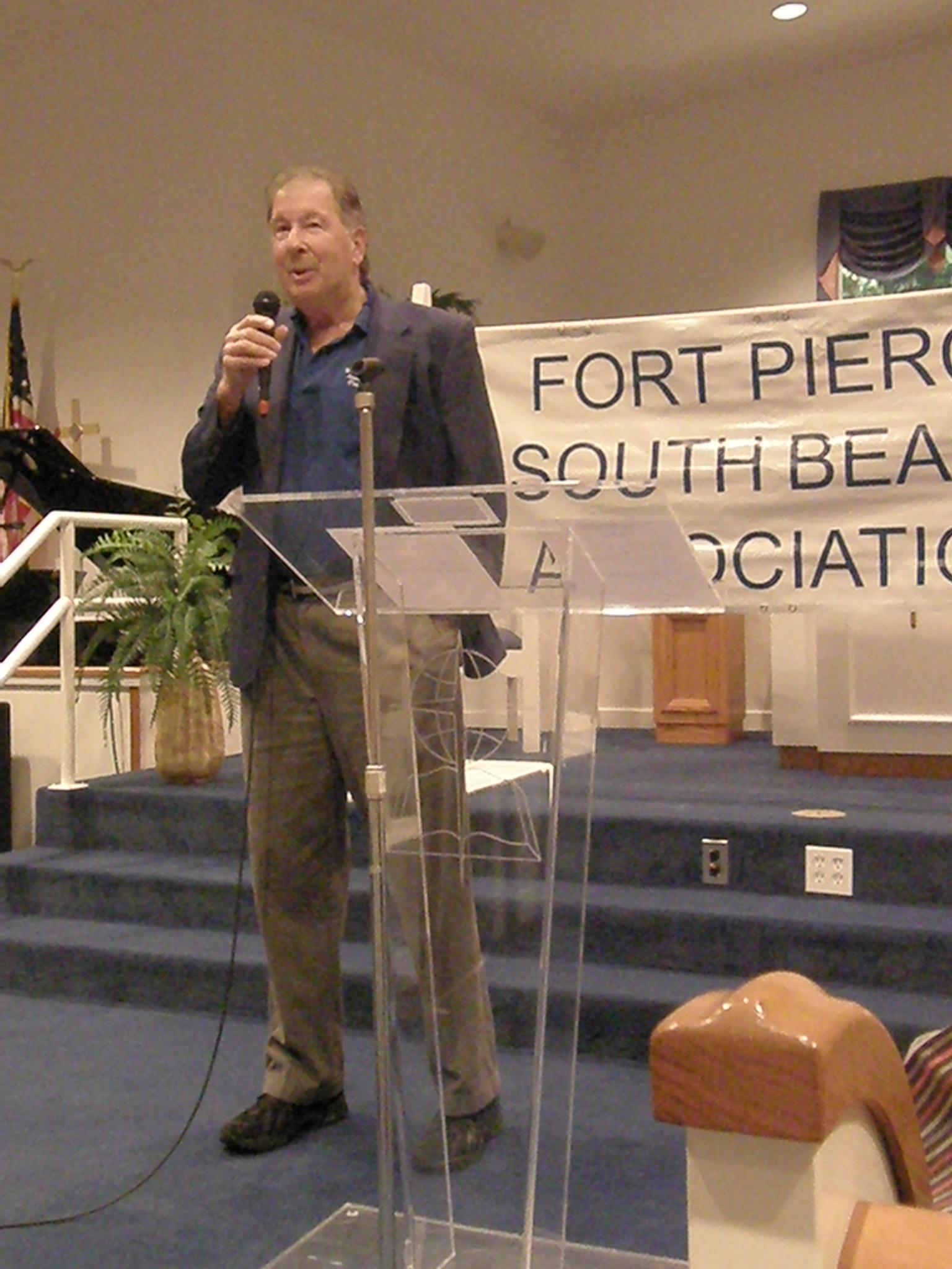 Paul Desborough gives the Treasurer's Report