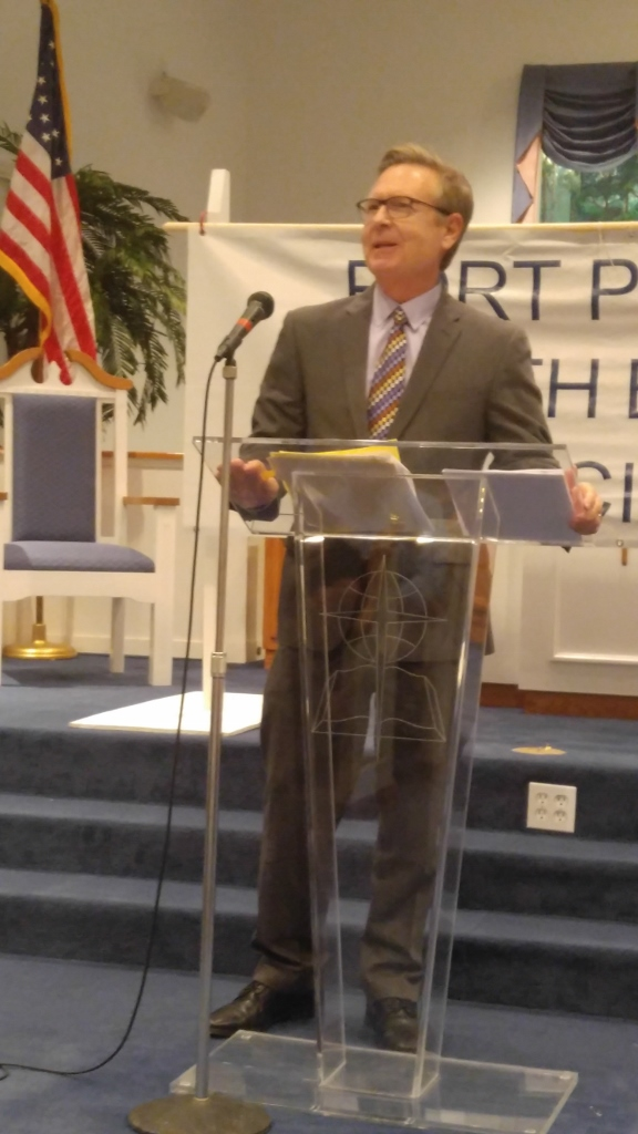 Guest Speaker – Stan Payne- Director of the Port of Fort Pierce